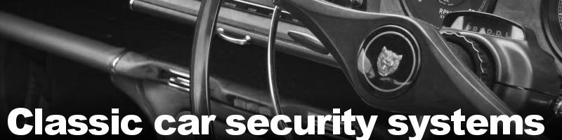 Classic car Thatcham alarm and immobiliser security